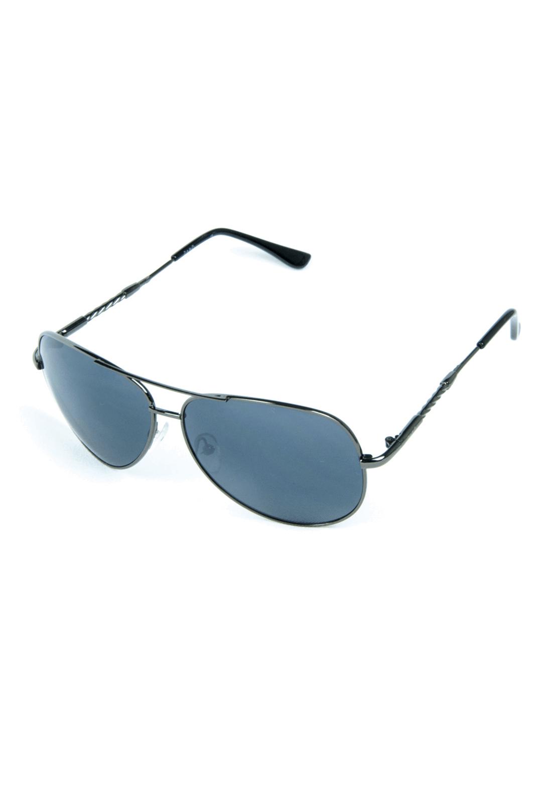 Óculos de Sol Zabô Bogota Chumbo em Metal