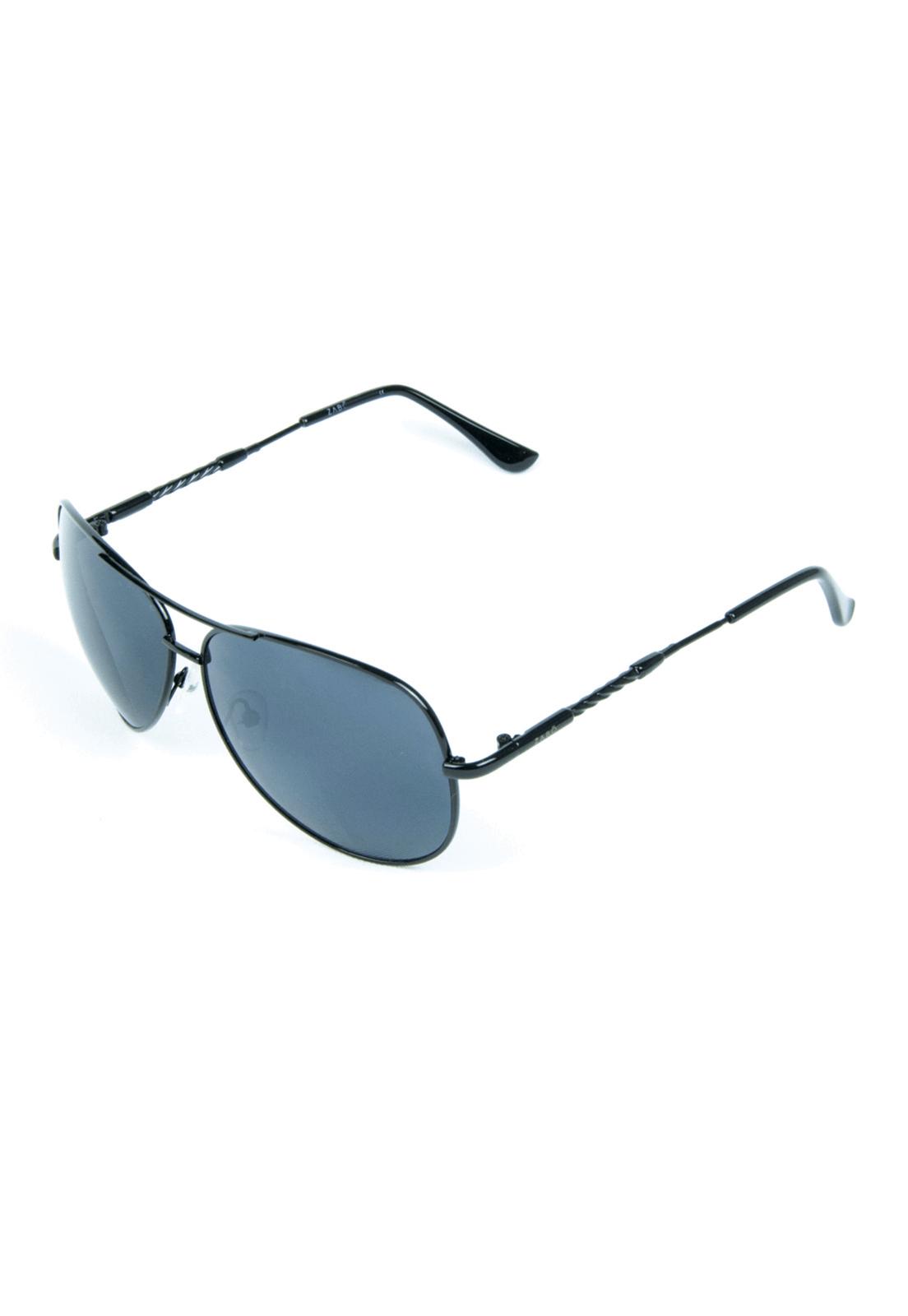 Óculos de Sol Zabô Bogota Preto em Metal