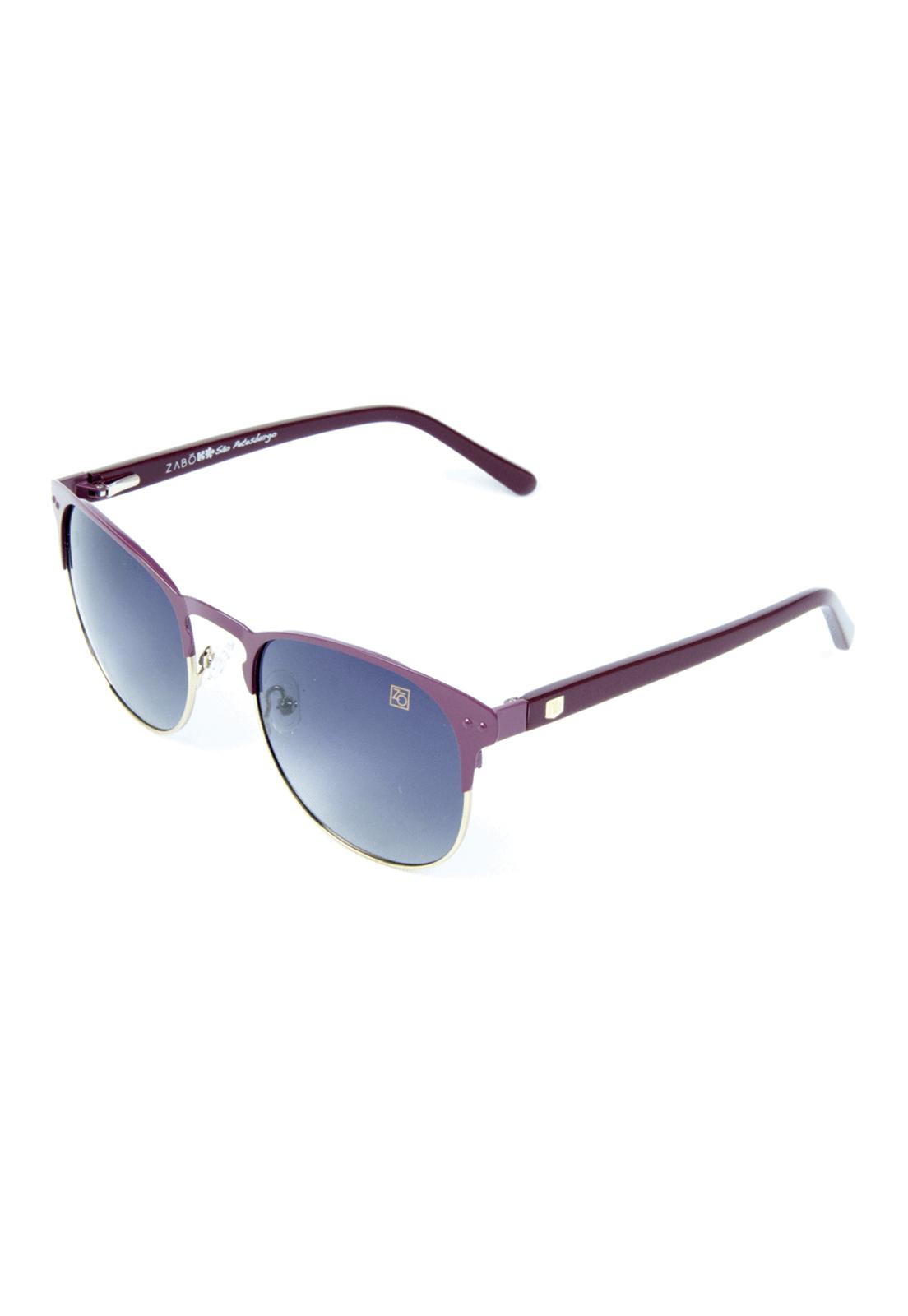 Óculos de sol Zabô São Petesburgo Roxo Lente Black