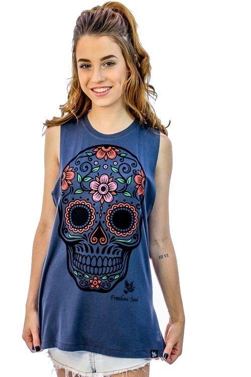 Regata Mexican Skull (Freedom Soul)