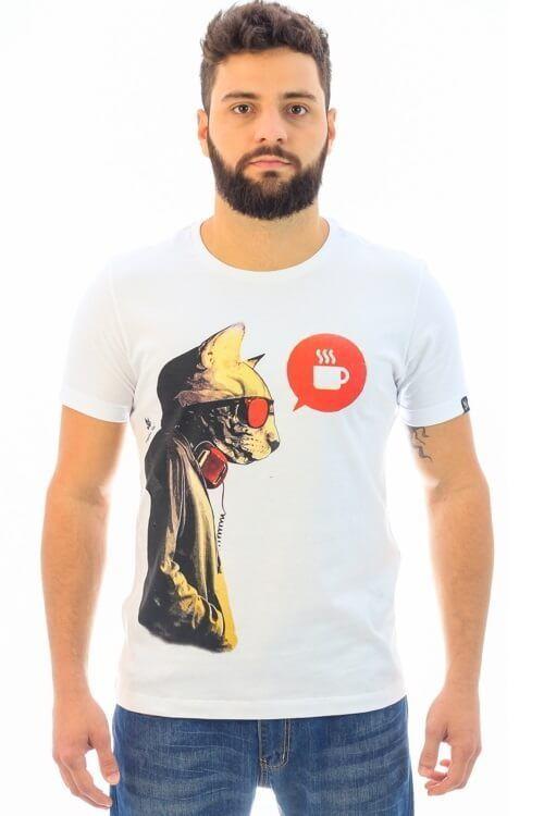 Camiseta Next Morning Branco (Freedom Soul)