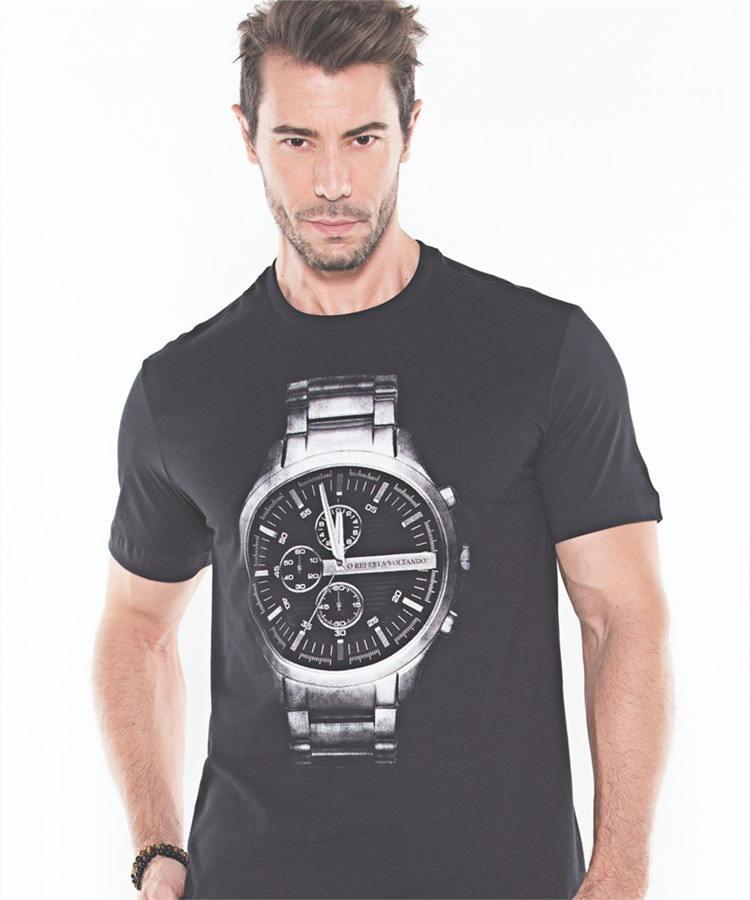 Camiseta Marka da Paz - O Rei Esta Voltando 9a314446448