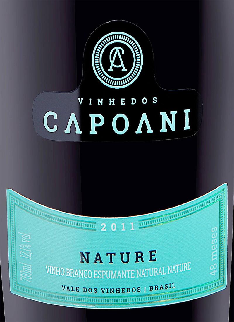 Vinho Espumante Branco NATURE CAPOANI 48 MESES 2011