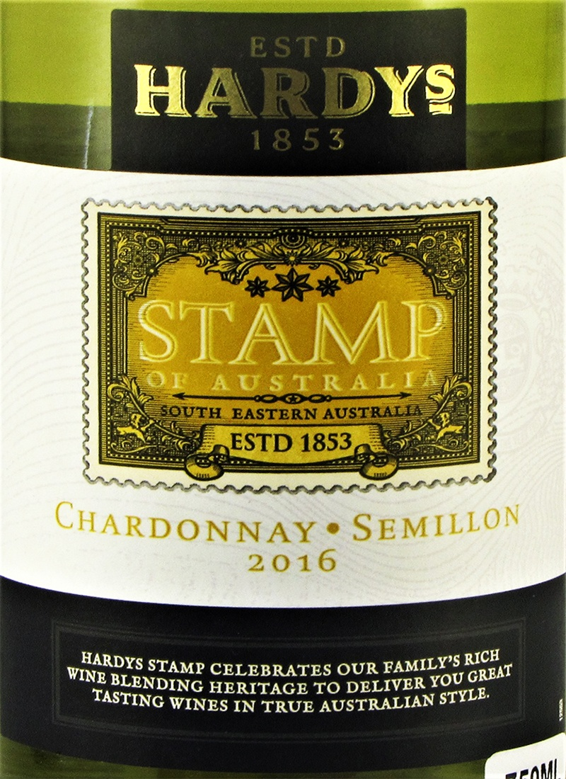 Vinho Branco Fino CHARDONNAY STAMP HARDYS