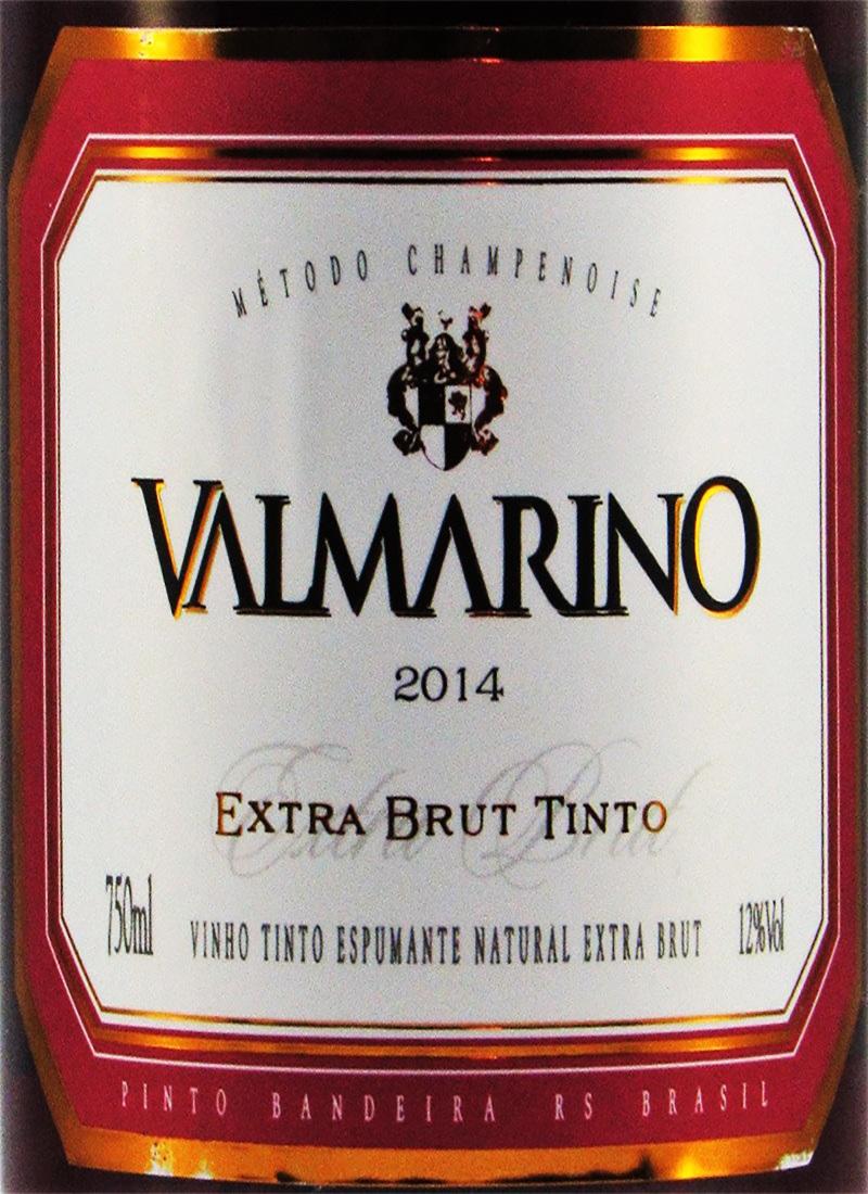 Vinho Espumante Tinto EXTRA BRUT VALMARINO