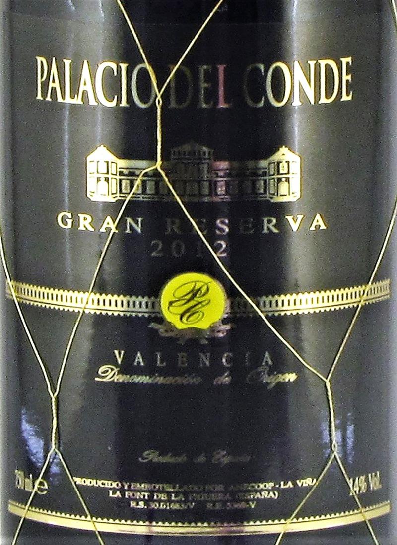 Vinho Tinto Extra Seco Fino MONASTRELL PALACIO DEL CONDE GRAND RESERVA