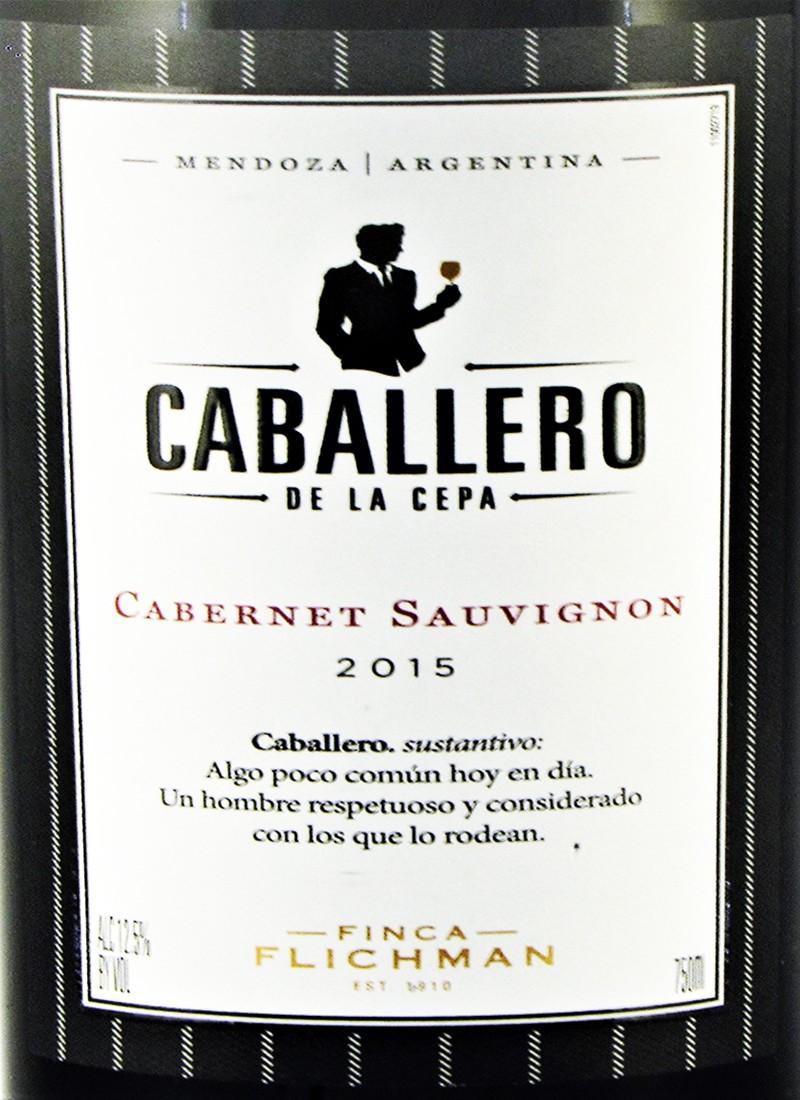 Vinho Tinto Seco Fino CABERNET SAUVIGNON CABALLERO DE LA CEPA