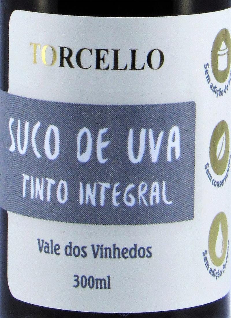 Suco de Uva 100% INTEGRAL TORCELLO 300 ML