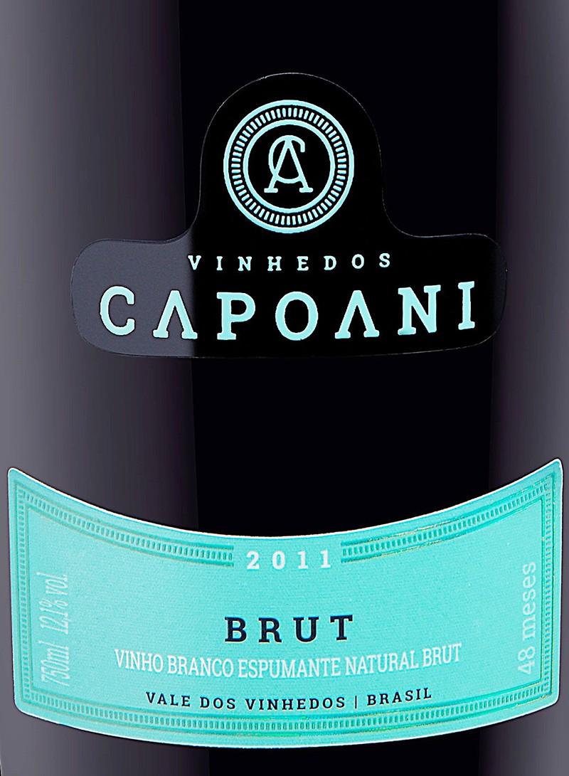 Vinho Espumante Branco BRUT CAPOANI 2011