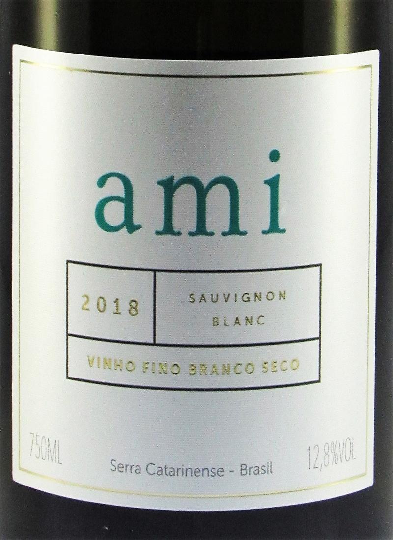Vinho Branco Fino Seco SAUVIGNON BLANC AMI ABREU GARCIA 2018