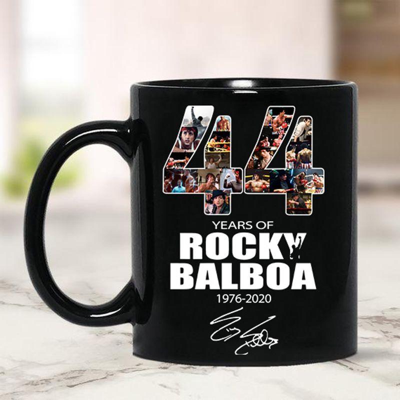 44 Years Of Rocky Balboa Signature Mug 11-15oz