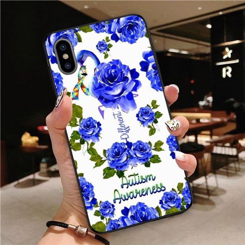 Autism Awareness Blue Rose Different Phone Case Full Sizes Iphone Samsung