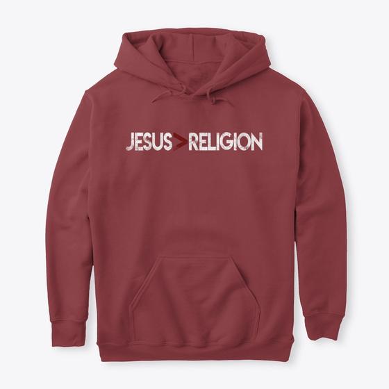 JESUS>RELIGION (MEN)