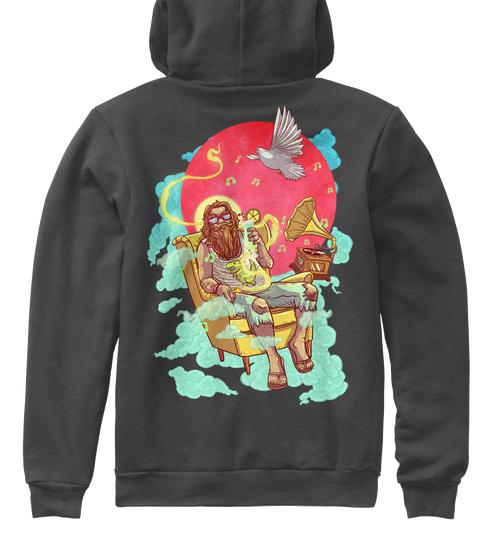 premium nounou/chill jesus hoodie