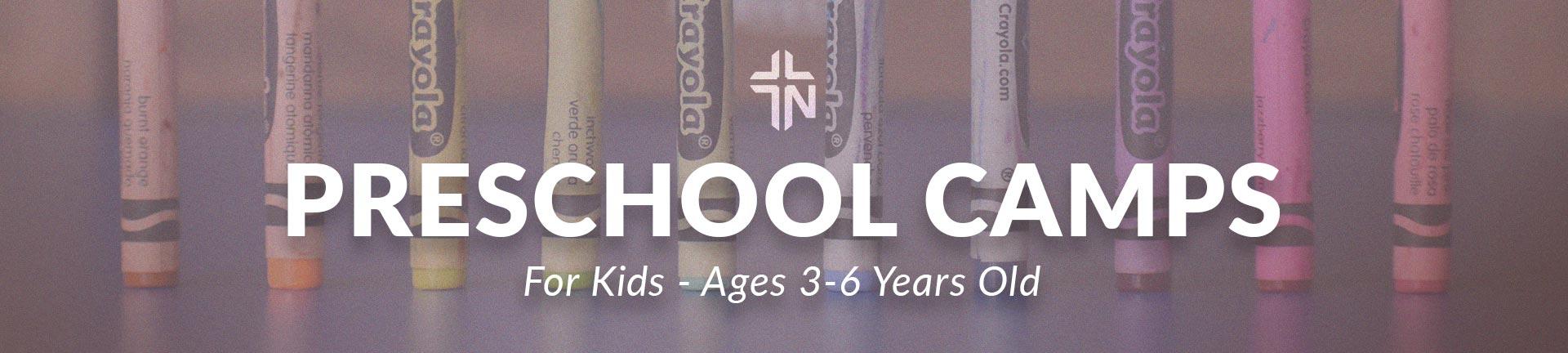 Preschool Weekly Summer Camp Web Hero Graphic