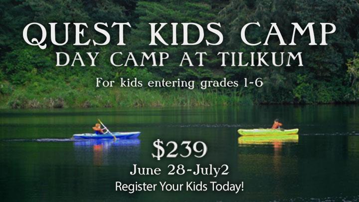 Quest Kids Camps - Tilikum Day Camp Registration