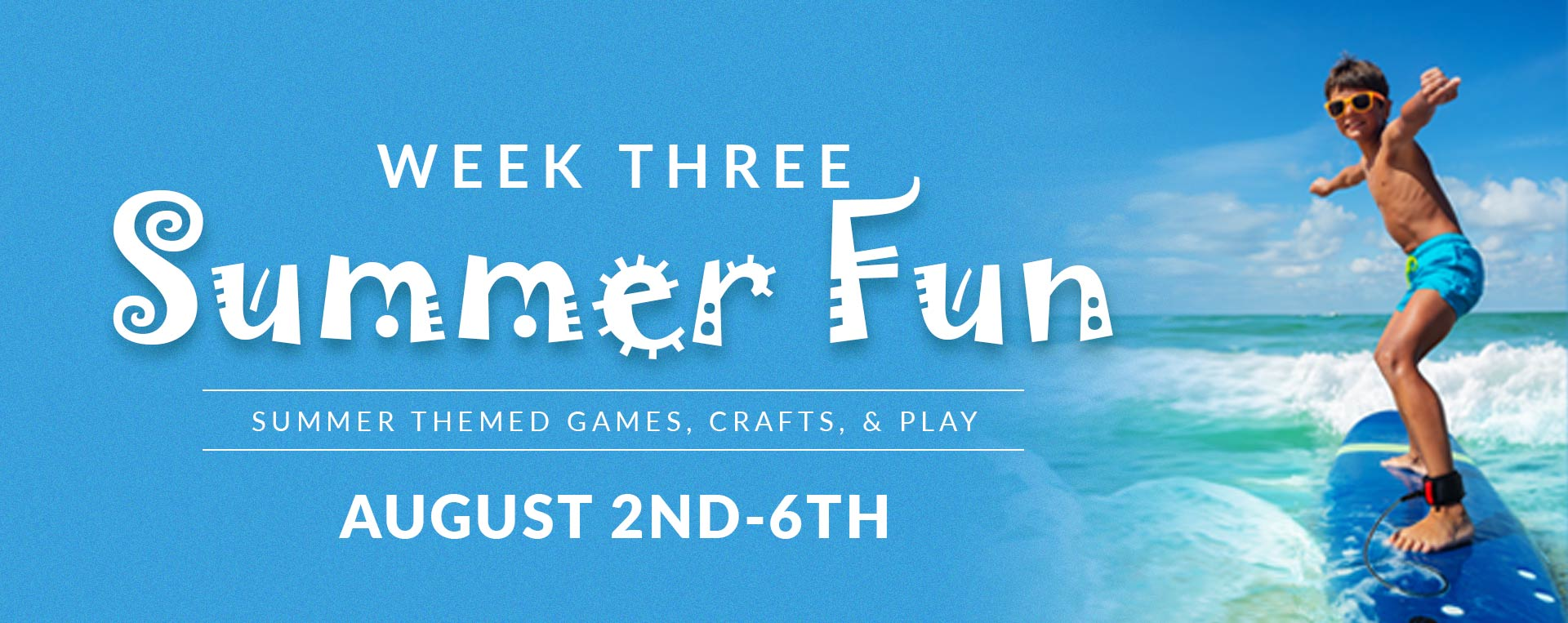 Summer Fun - Preschool Camp Registration