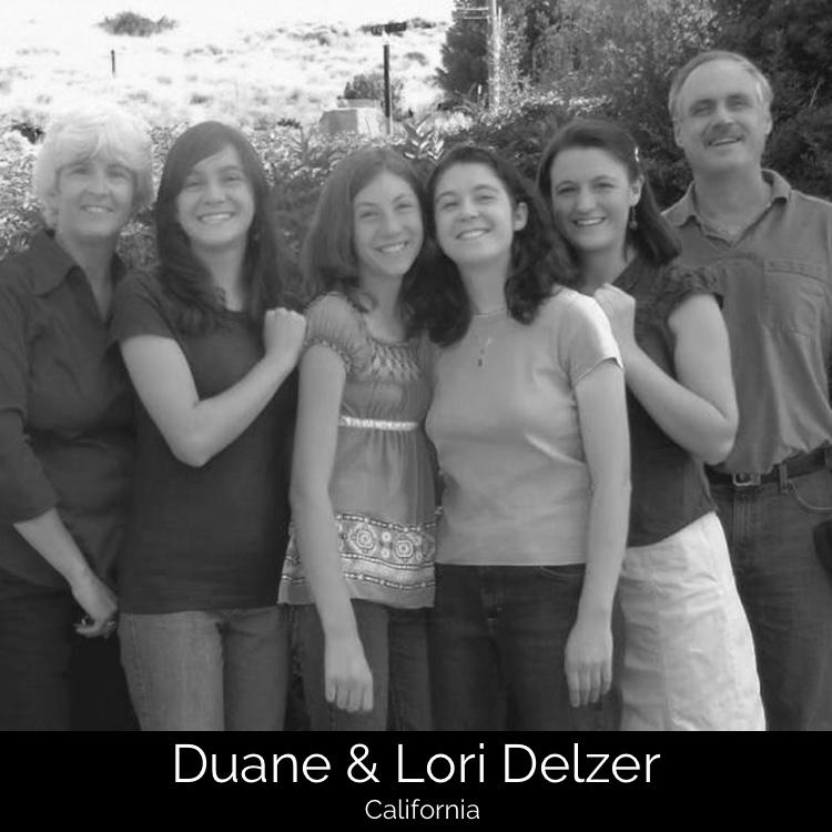Duane & Lori Delzer | Camp Challenge, California
