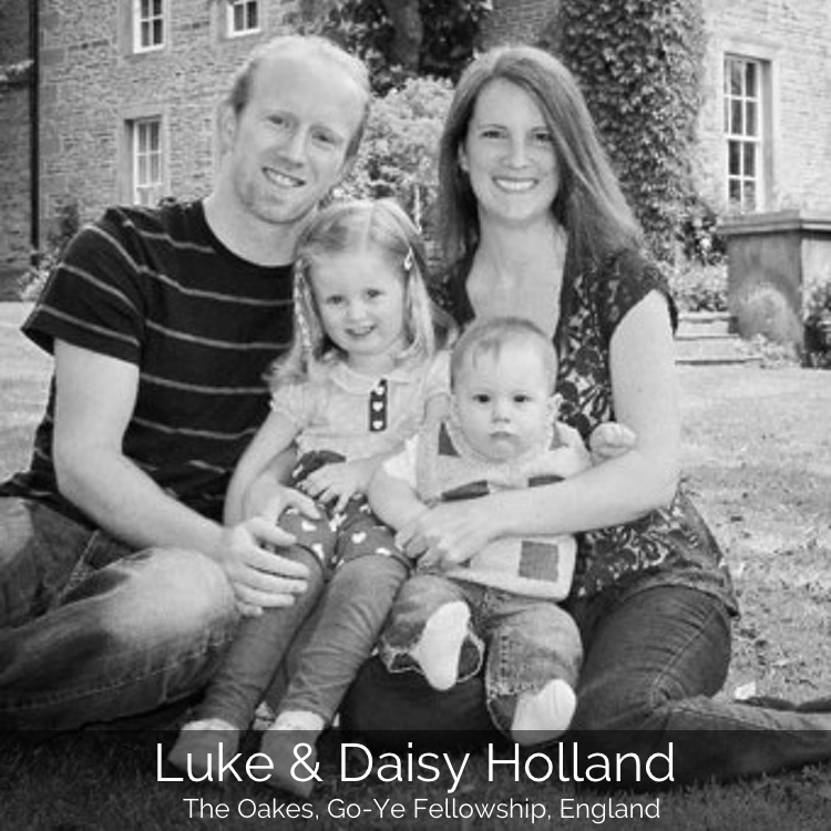Luke & Daisy Holland | The Oakes, GoYe Fellowship, England