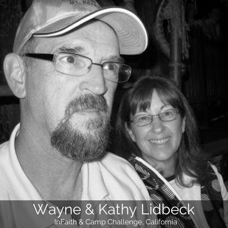 Wayne & Kathy Lidbeck | InFaith & Camp Challenge, California