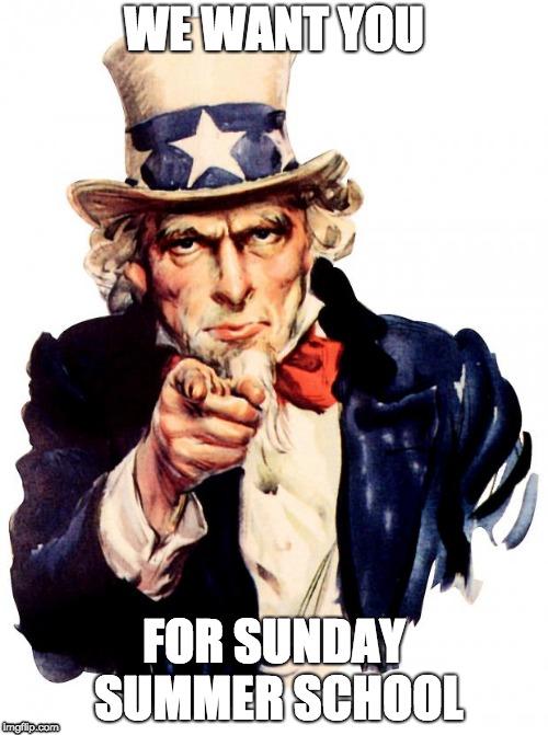 Sunday Summer School Uncle Sam