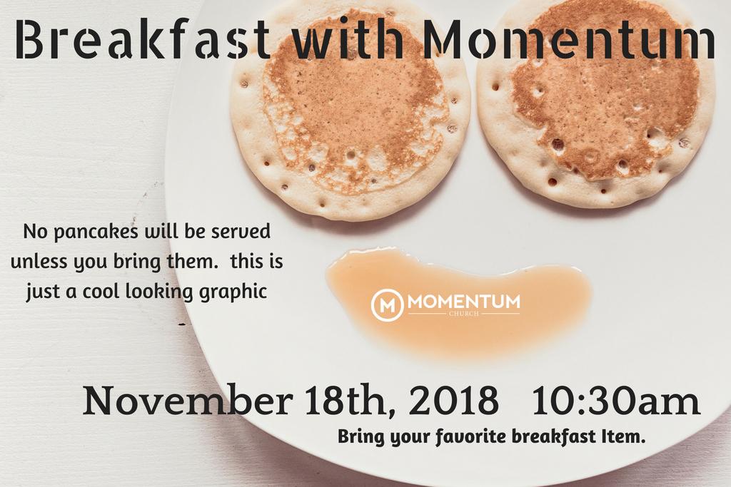 Breakfast with Momentum2018