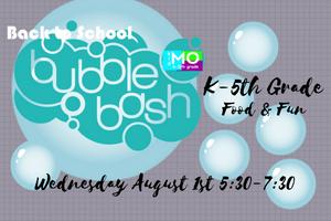 Bubble Bash Website Events