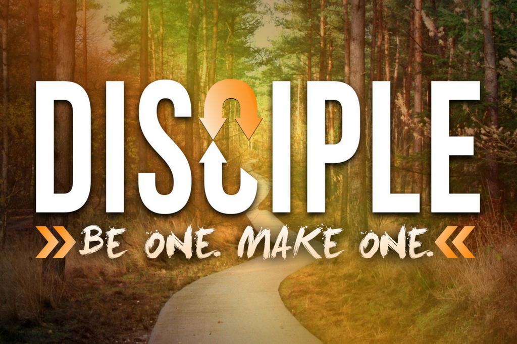 Disciple Series Website Events Graphic