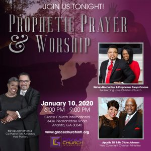 Prophetic Prayer and worship