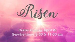 Risen-Easter