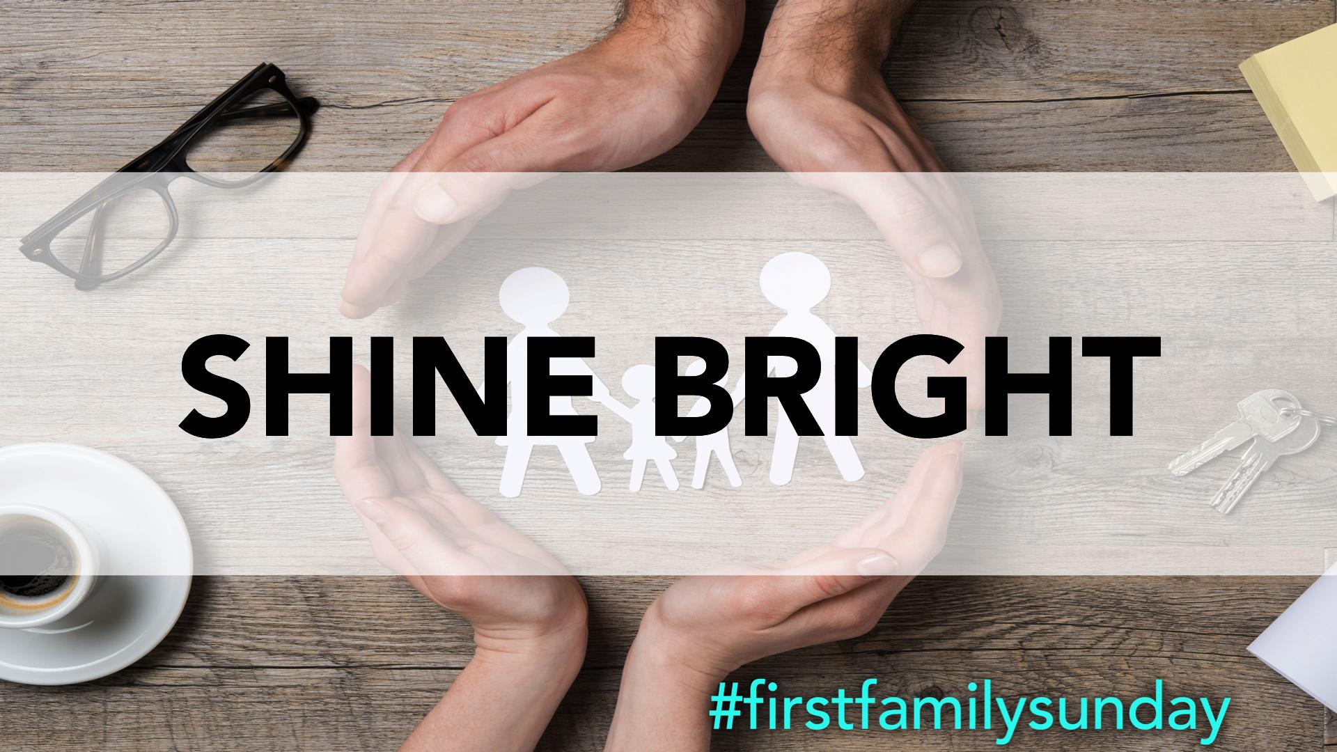 Shine Bright Title