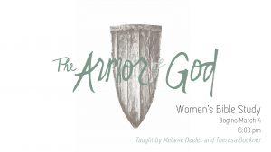 armor of god slide
