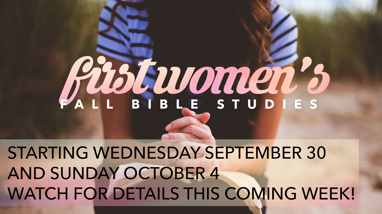 fall bible studies