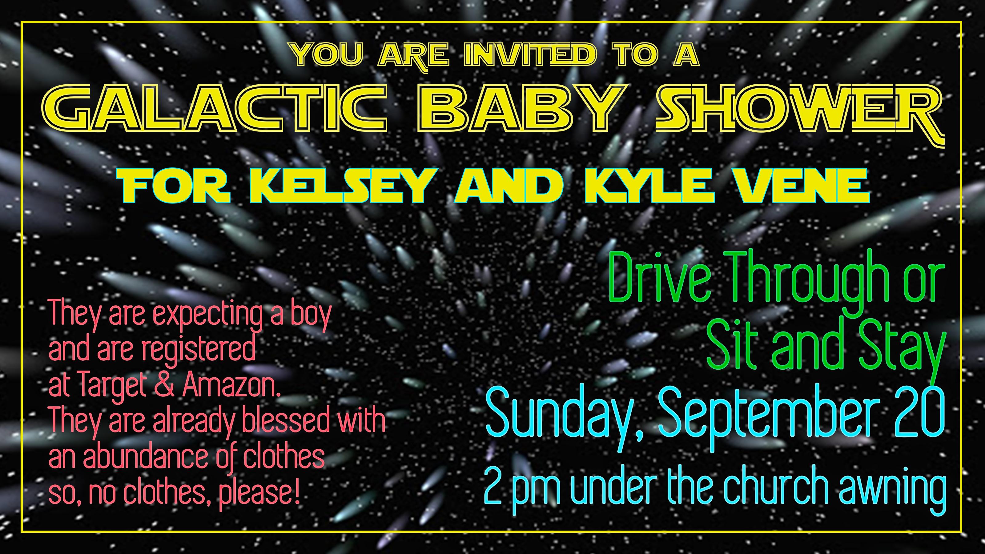 kelsey vene baby shower