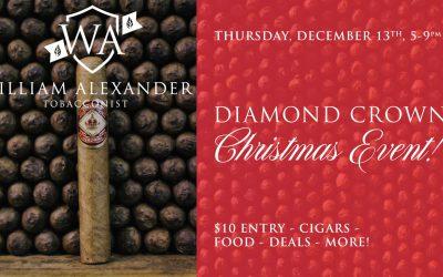 Diamond Crown Christmas @ William Alexander