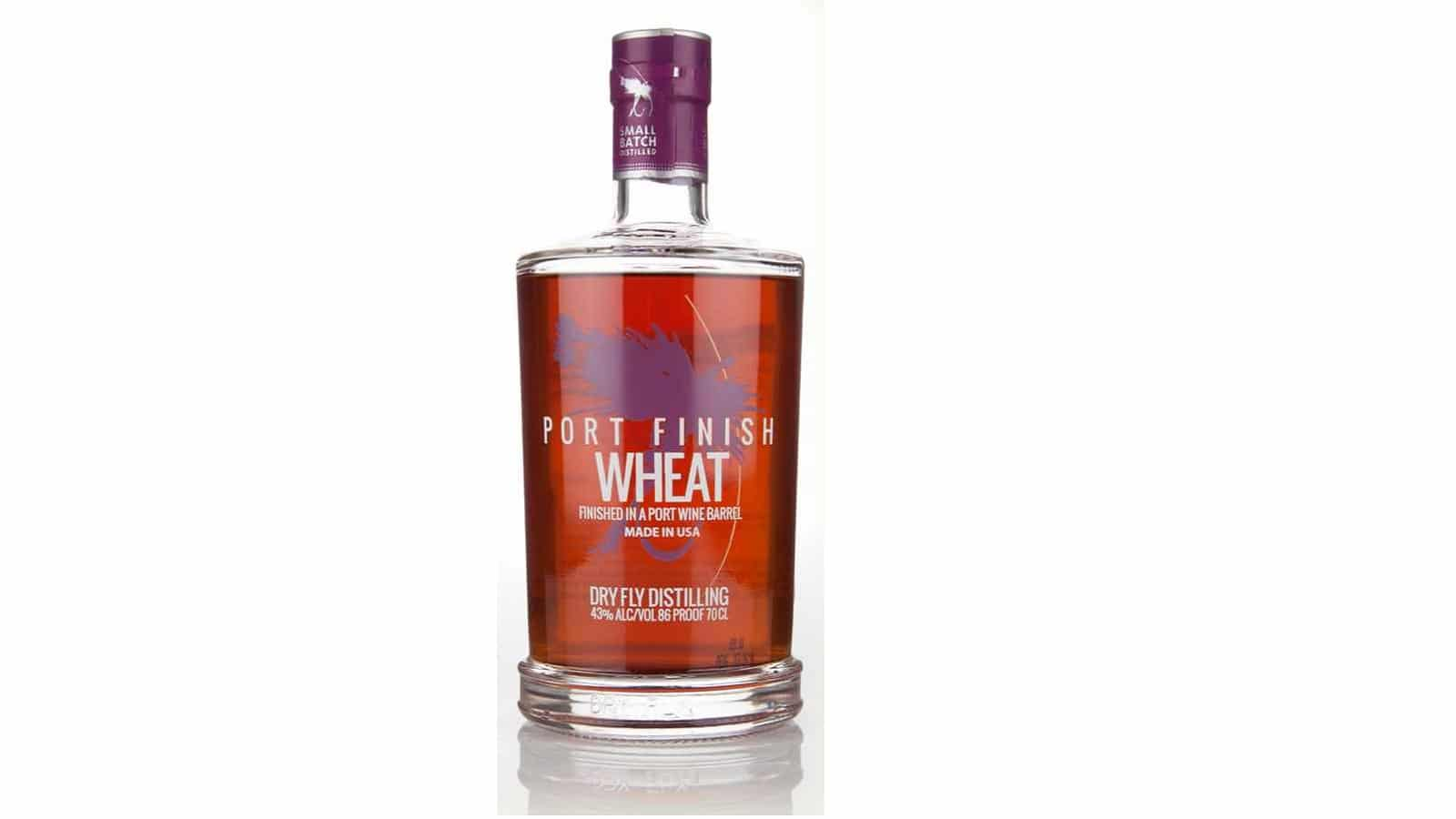 Dry Fly Wheat Whiskey Fortified Huckleberry Wine Cask Finish