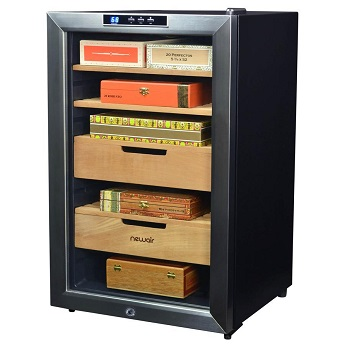 NewAir 400 Climate Controlled Automatic Cigar Humidor CC-300H Review