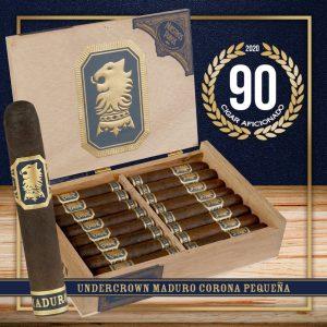 Cigar Aficionado gives Undercrown Corona Pequena a 90 rating!