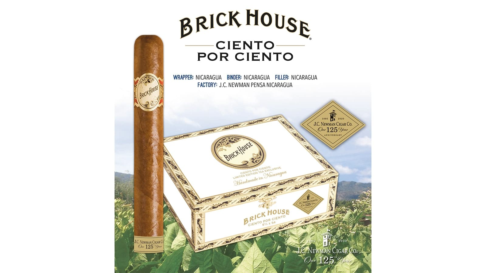 J.C. Newman Releases Limited-Edition Brick House Cigar for TAA