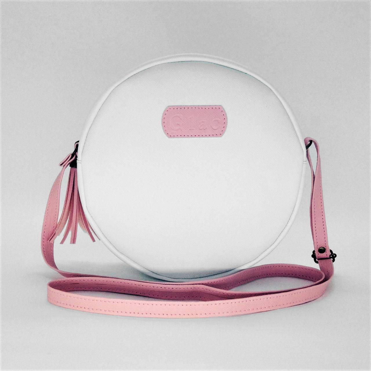 Bolsa Cantil White Pink