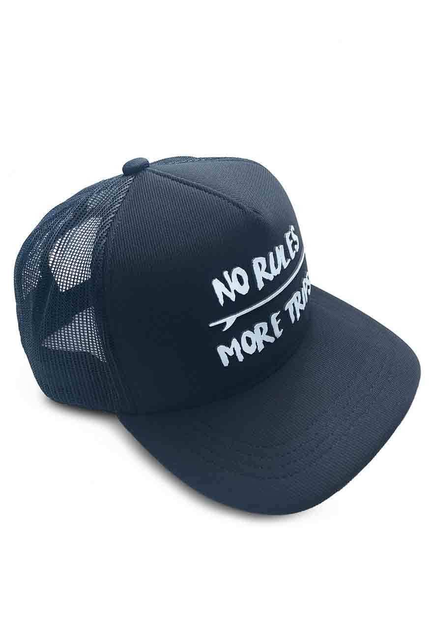 Boné Aba Curva Trucker No Rules fd7fe58e07e