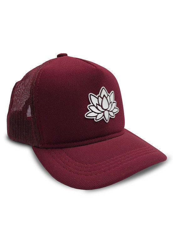 Boné Aba Curva Trucker Outstanding Lotus Wine