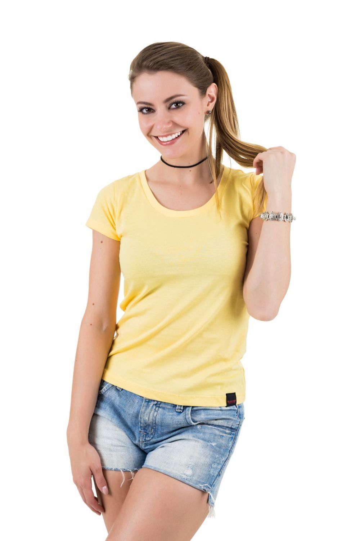 Camiseta AES 1975 Básica Amarela