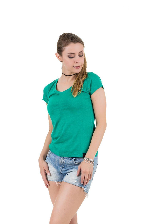 Camiseta AES 1975 Básica Verde