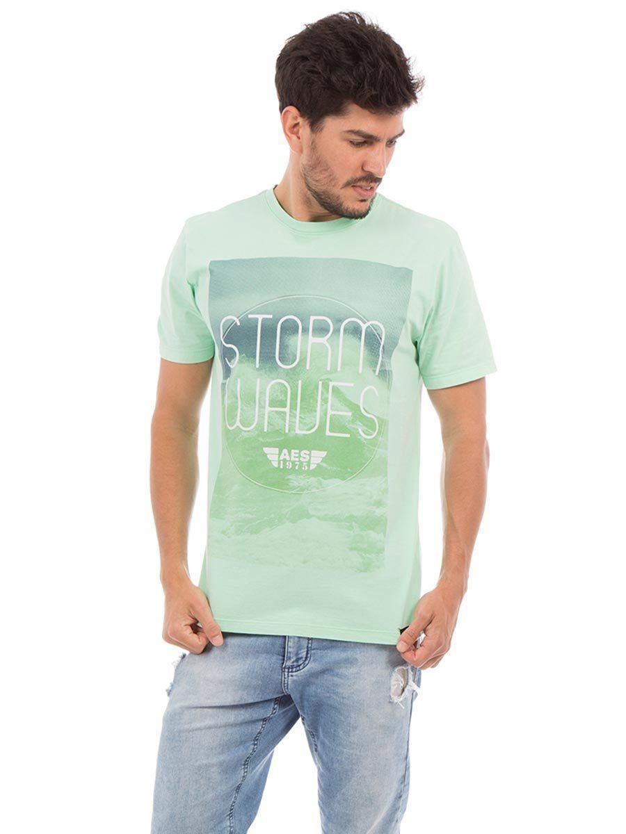 Camiseta AES 1975 Storm Waves
