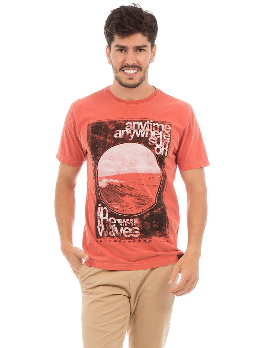 Camiseta AES 1975 Sun in the Waves