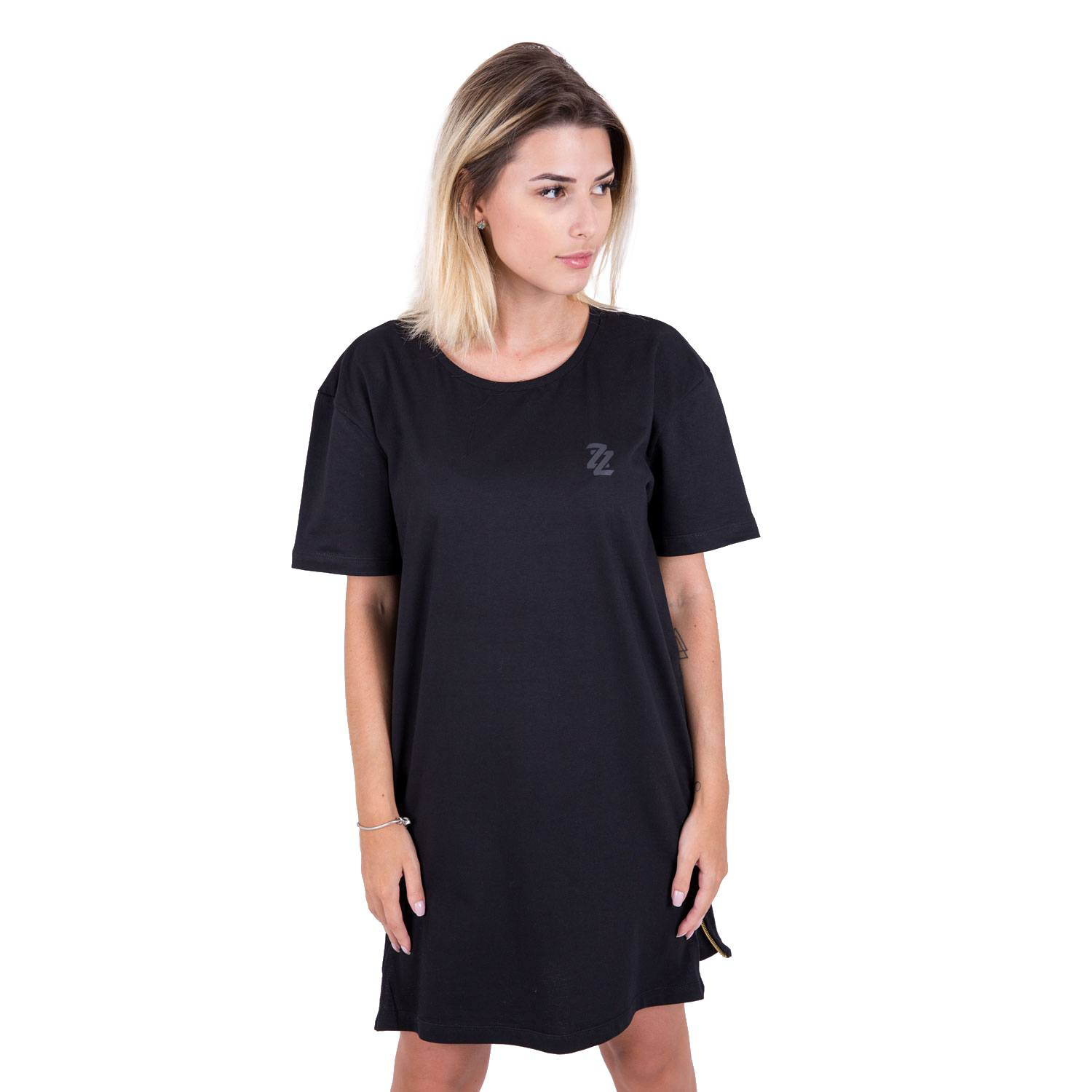 Camiseta Black n' Gold  Oversized Feminina