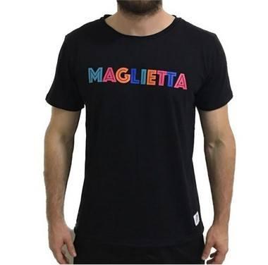 Camiseta Color Preta Maglietta