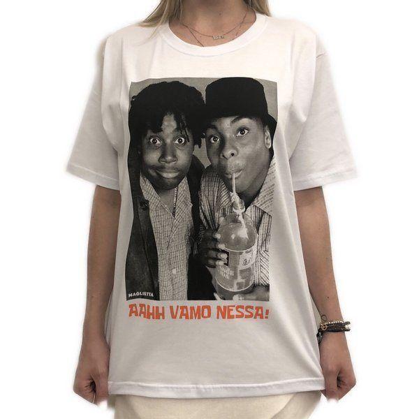 Camiseta Kenan e Kel Branca Maglietta