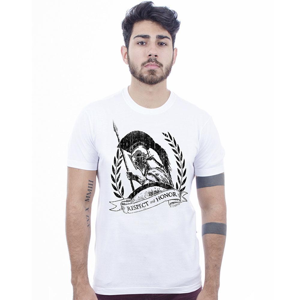 Camiseta Masculina  Estampada Esparta Hardivision